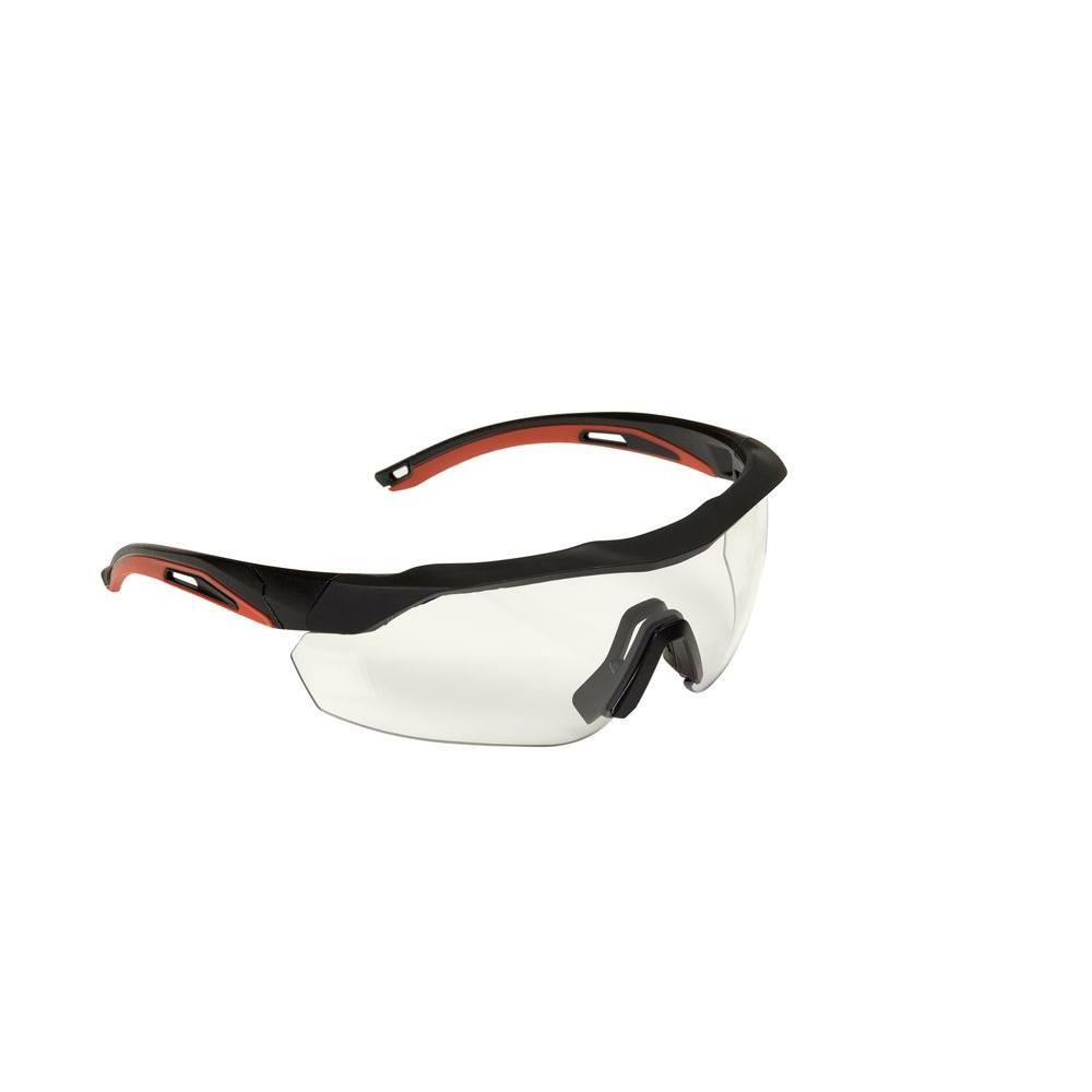 3m accent frame and clear antifog lens black performance