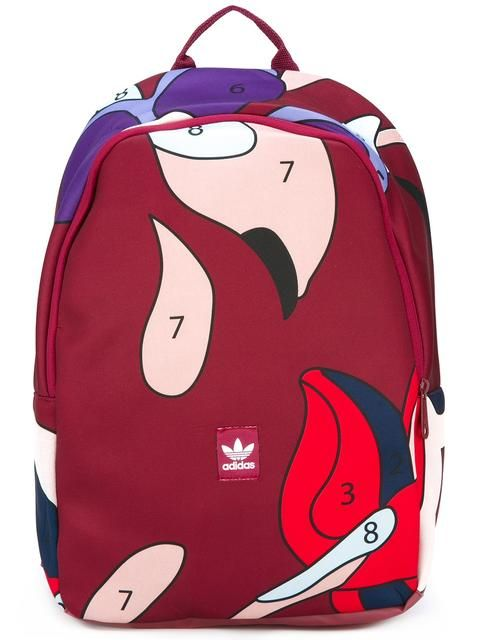 ADIDAS ORIGINALS Abstract Print Large Backpack.  adidasoriginals  bags   polyester  backpacks   6d507e0d6e