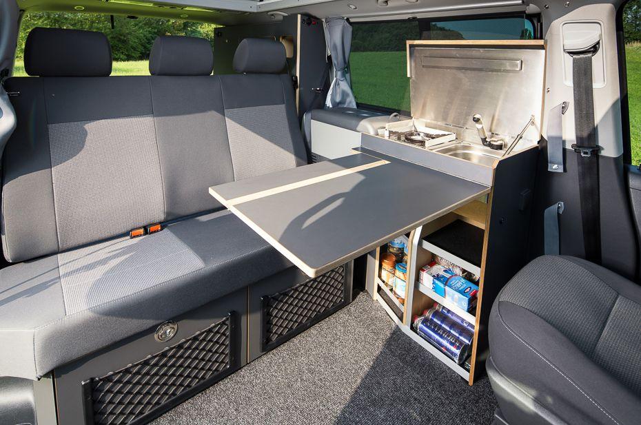classic der spacecamper vw t5 camping ausbau. Black Bedroom Furniture Sets. Home Design Ideas