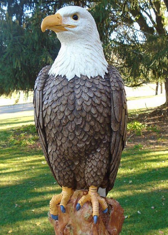 Amazing Eagle Concrete Statue Patriotic Statue The Majestic