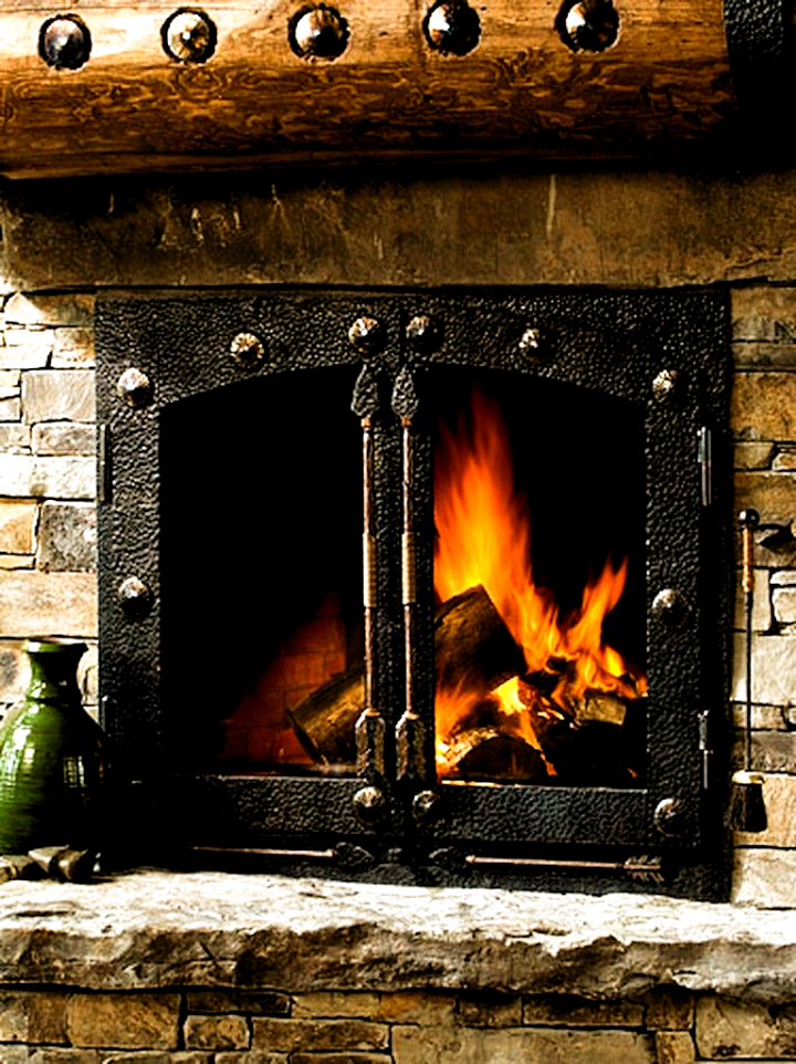 Fireplace #Fireplace Patio two sided fireplace Design ...