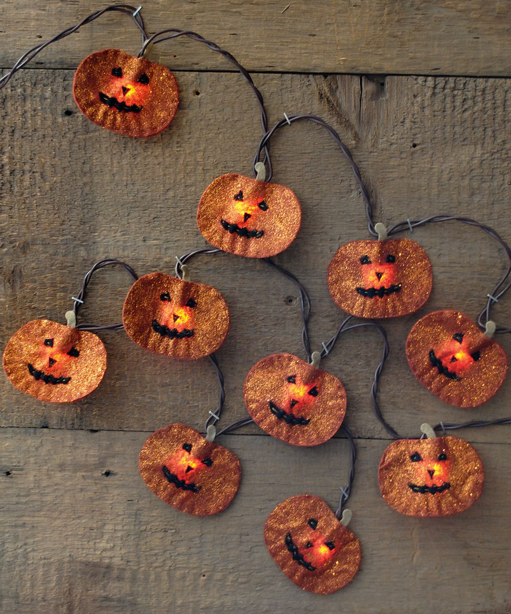 Pumpkin Light Garland | zulily