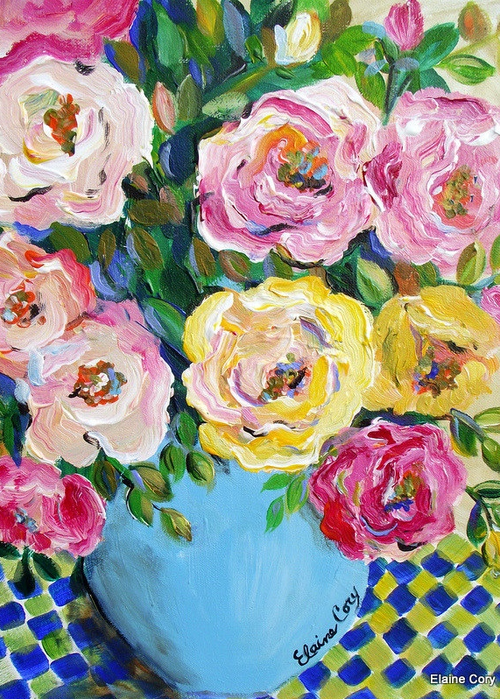 Flower art also roses from the garden pinterest paintings flowers and artsy rh