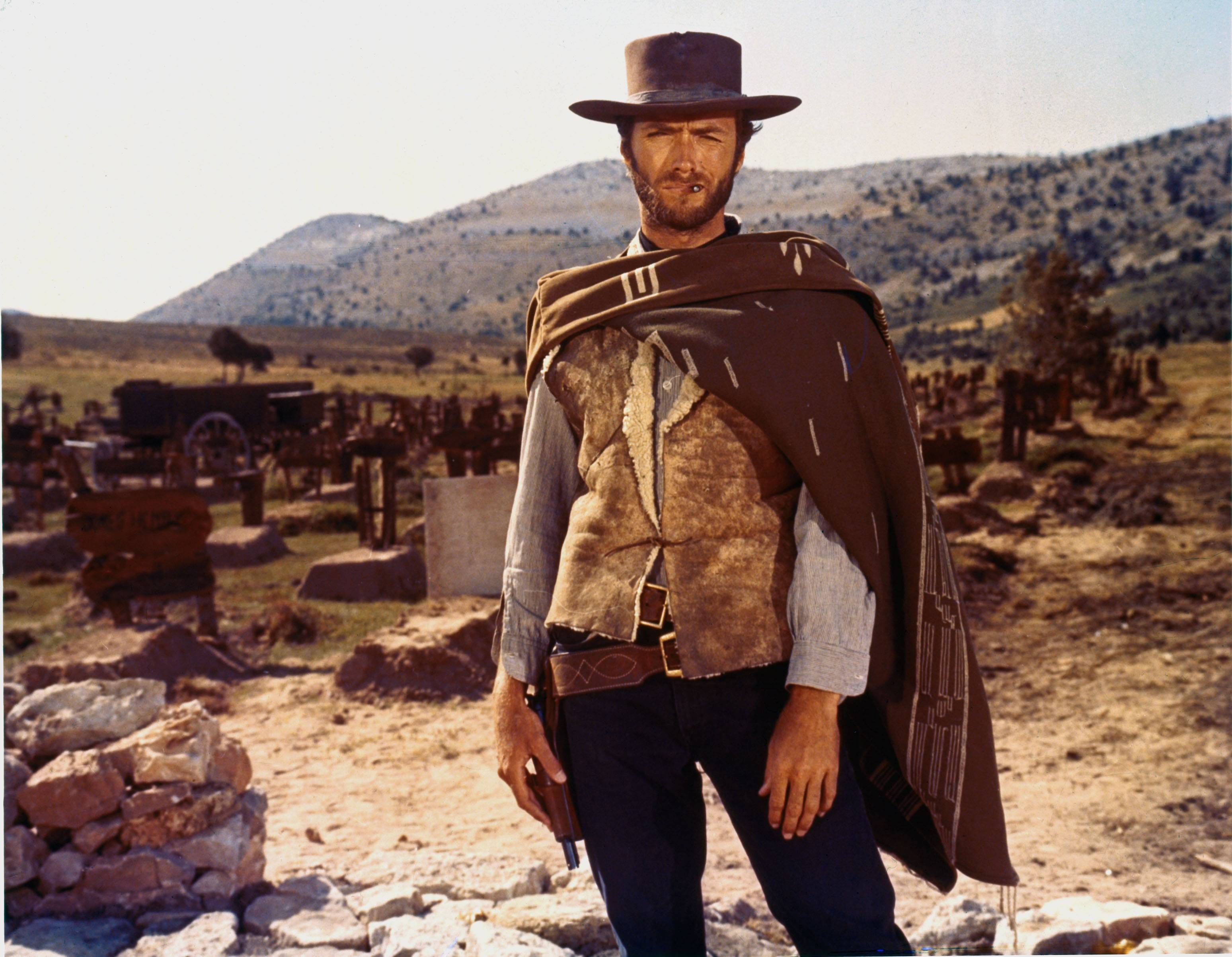 Clint Eastwood in The Good the Bad and the Ugly (Sergio Leone 1966)  #films #movies #SergioLeone  #western #ClintEastwood  #60s   #HighRes #HR