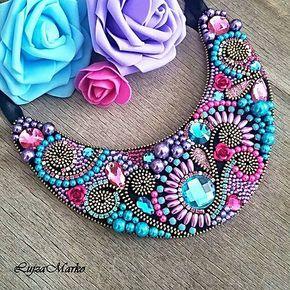 LujzaMarko / Lila náhrdelník