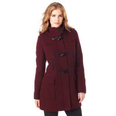 JESSICA®/MD Women's Faux-Wool Duffle Coat - Sears | Sears Canada ...
