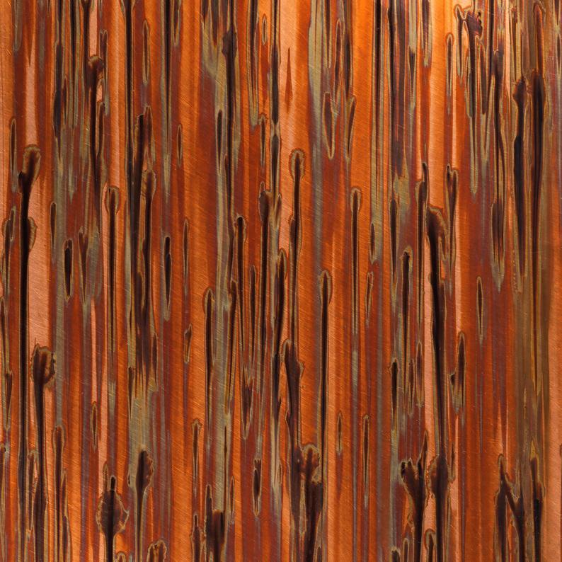 Pin By Miles Williams On Studiovan Copper Sheets Copper Backsplash Copper Patina