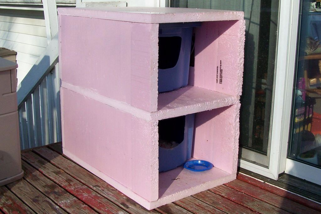 diy cat condo Google Search Outdoor cat house, Feral