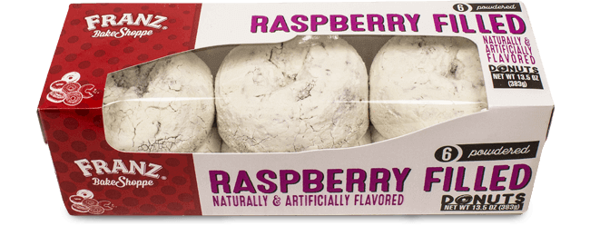 Franz Bakery Raspberry Filled Donuts Filled Donuts Raspberry Filling Food Supply