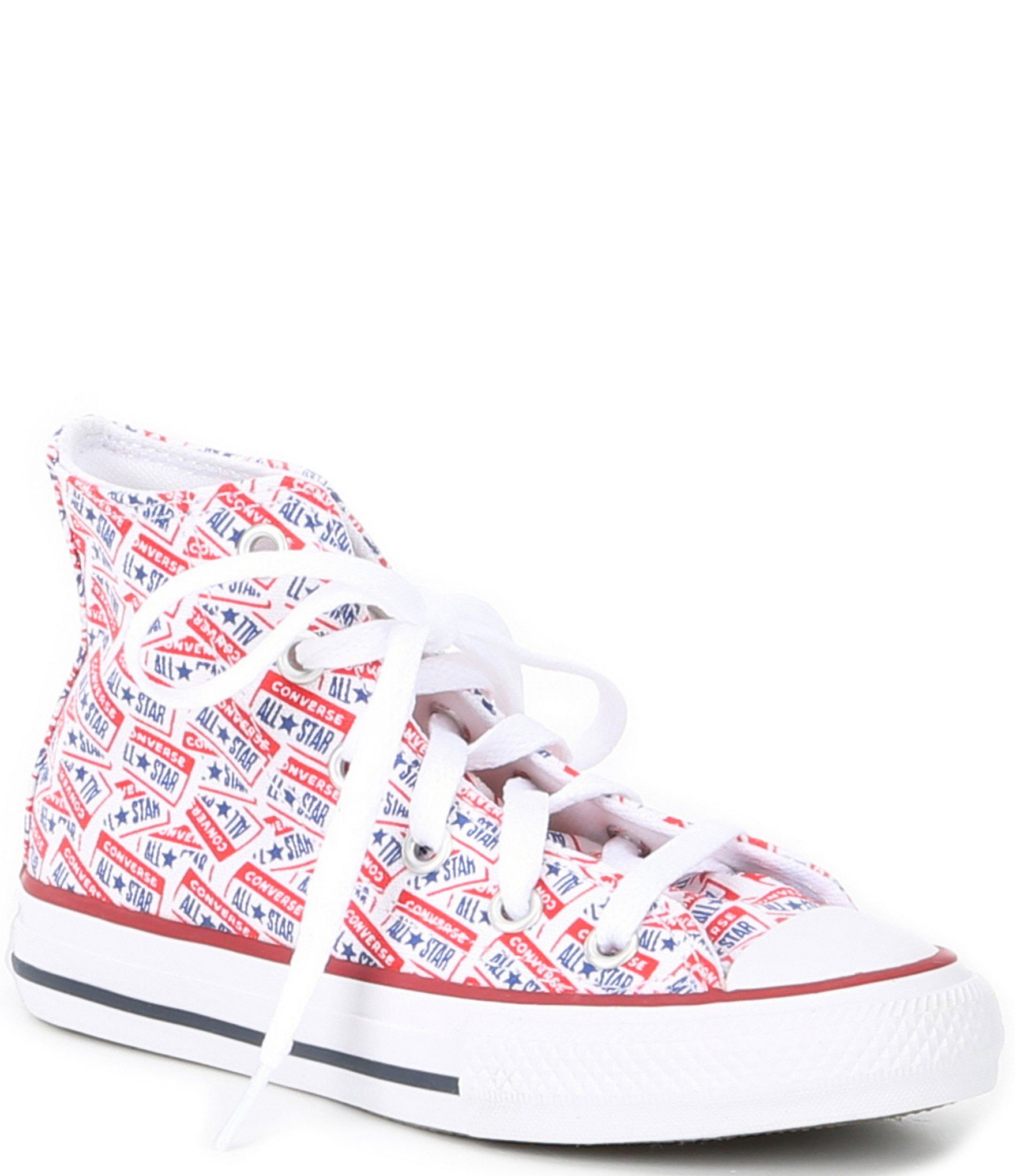 Converse Kids' Chuck Taylor All Star License Plate High Top Sneakers Youth