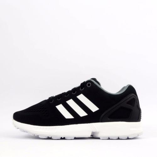 ade20d86c84d5 adidas-Originals-ZX-Flux-ESM-Mens-Casual-Trainers-Shoes-Sneakers-Black-White