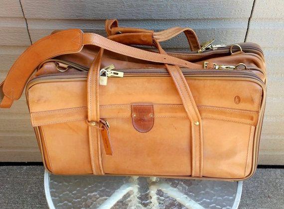 de4a30808c Vintage Hartman Luggage With Shoulder Strap
