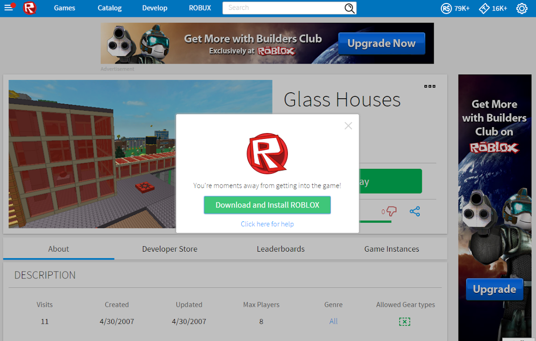 How To Install And Play Roblox Using Google Chrome Microsoft Edge