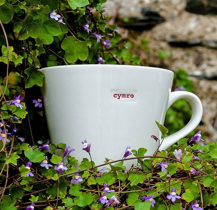 'Cymro' Bucket Mug
