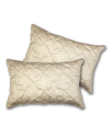 Take A Look At This Ivory Lucia Oblong Decorative Pillow Set Of Simple Lush Decor Decorative Pillows