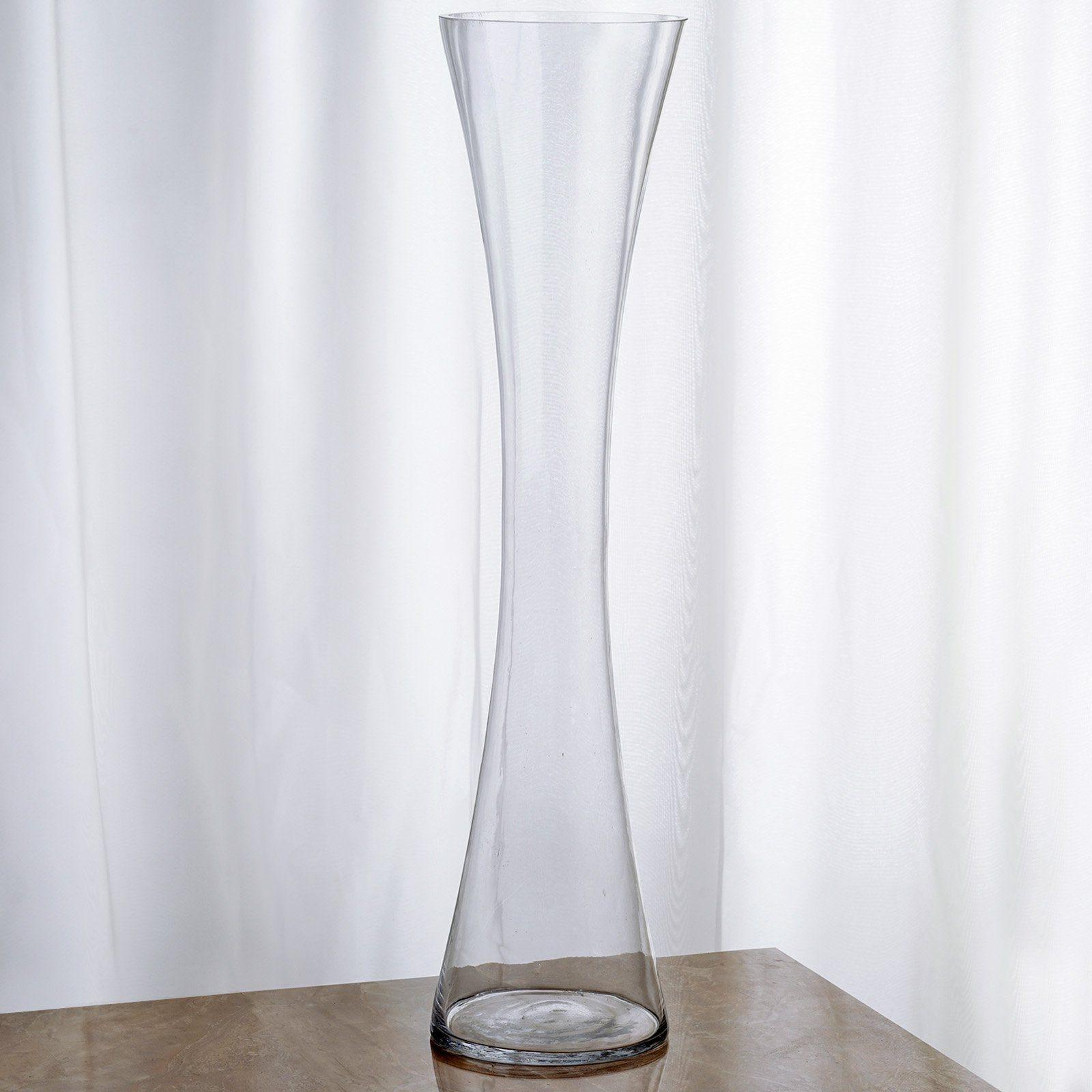 6 Pack 2 Ft Heavy Duty Hour Glass Vase Flower Vase Design