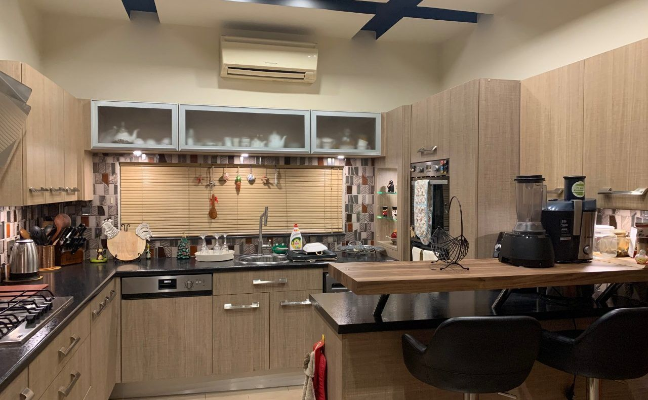 Kitchen Cabinet Design in Pakistan in 2020 | Kitchen ...