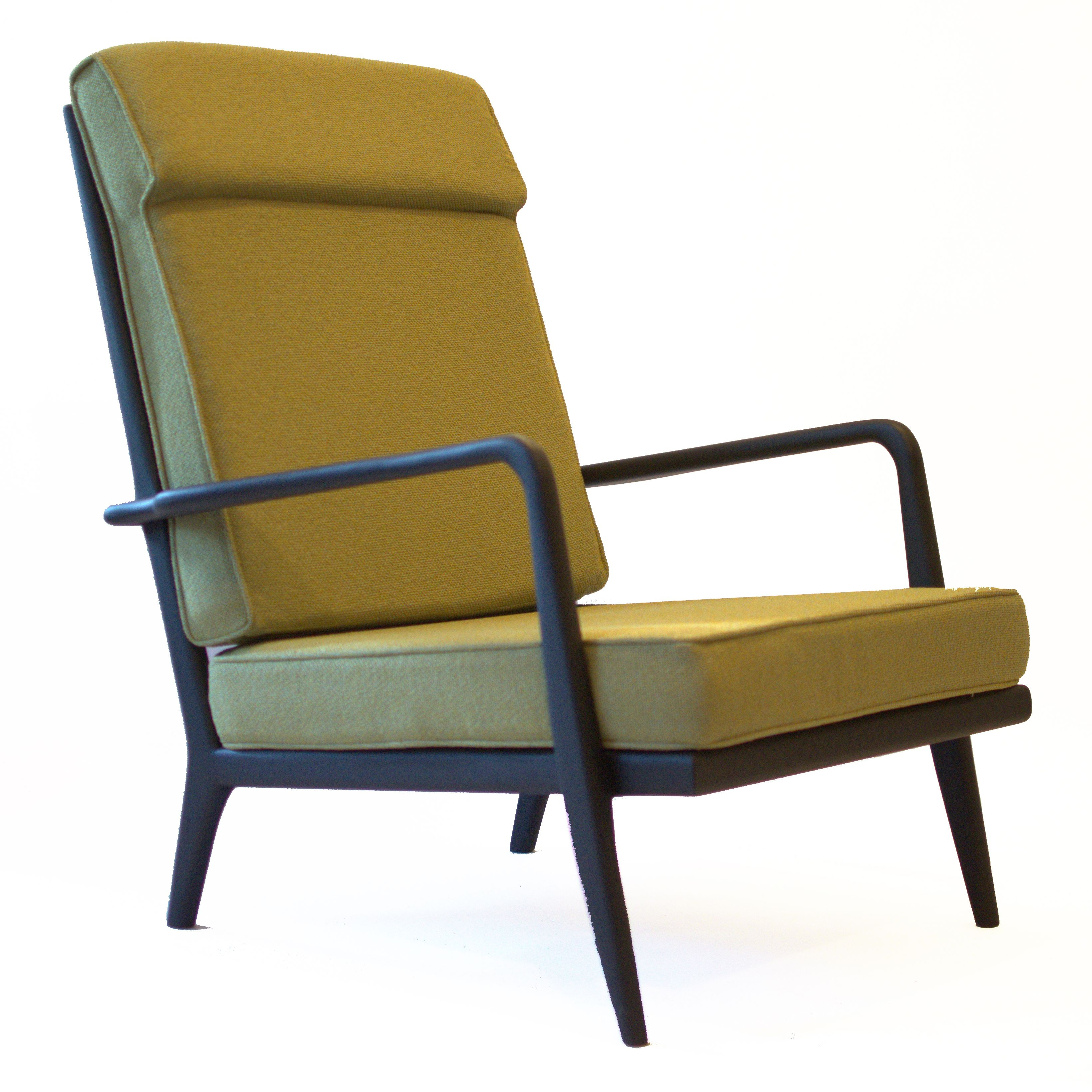 HWAC 44 High Back Arm Chair From The Rail Back Collection