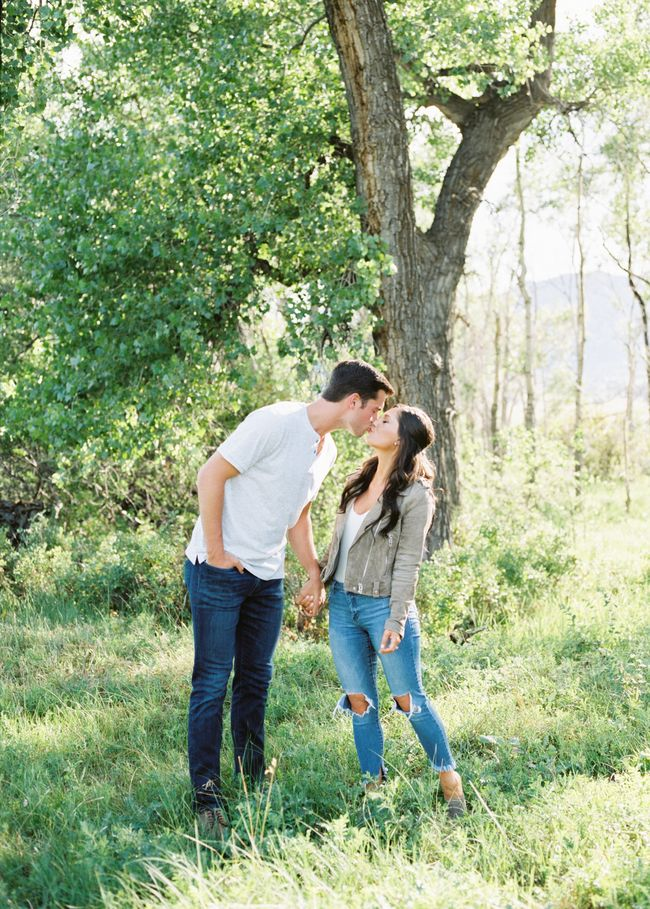 Relaxed Engagement Shoot in the Colorado Mountains – Inspired By This