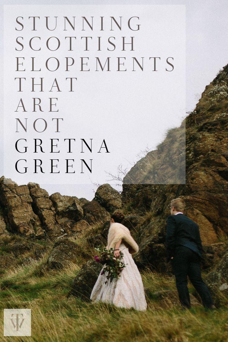 Scottish Elopement Weddings That are Not Gretna Green