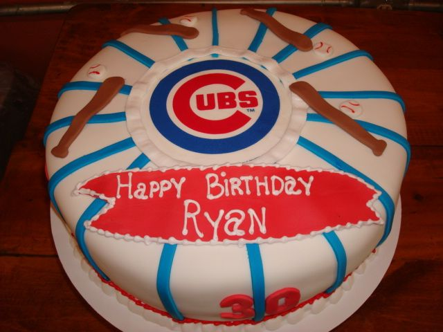 cubs birthday cake chicago cubs birthday cake themed cakes 3222