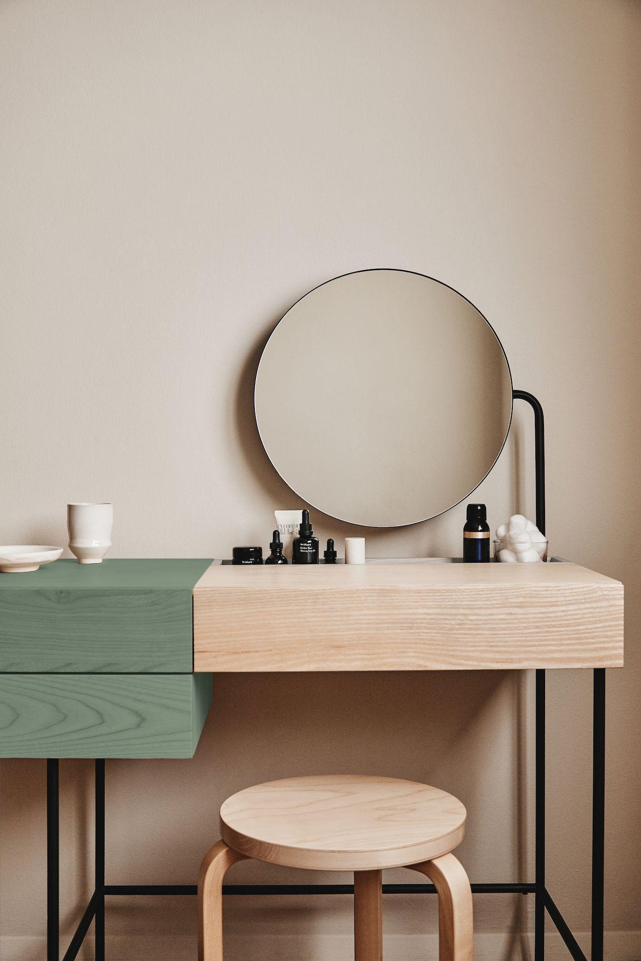 Composed Vanity By Ladies Gentlemen Studio Dims Minimalist Vanity Furniture Home Decor
