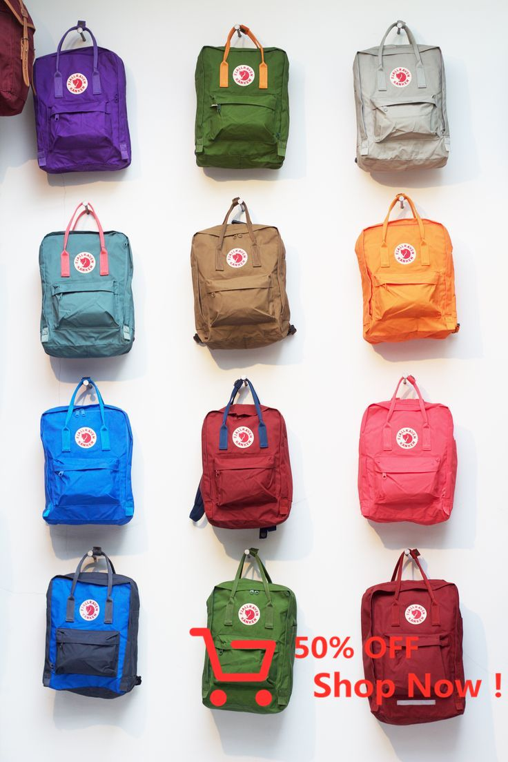 I Fall In Love With Fjallraven In Stocholm Last April Kanken