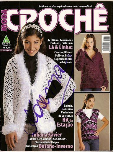 Moda Croche Outono-Inverno nº 83 – Rose Viana – Picasa tīmekļa albumi