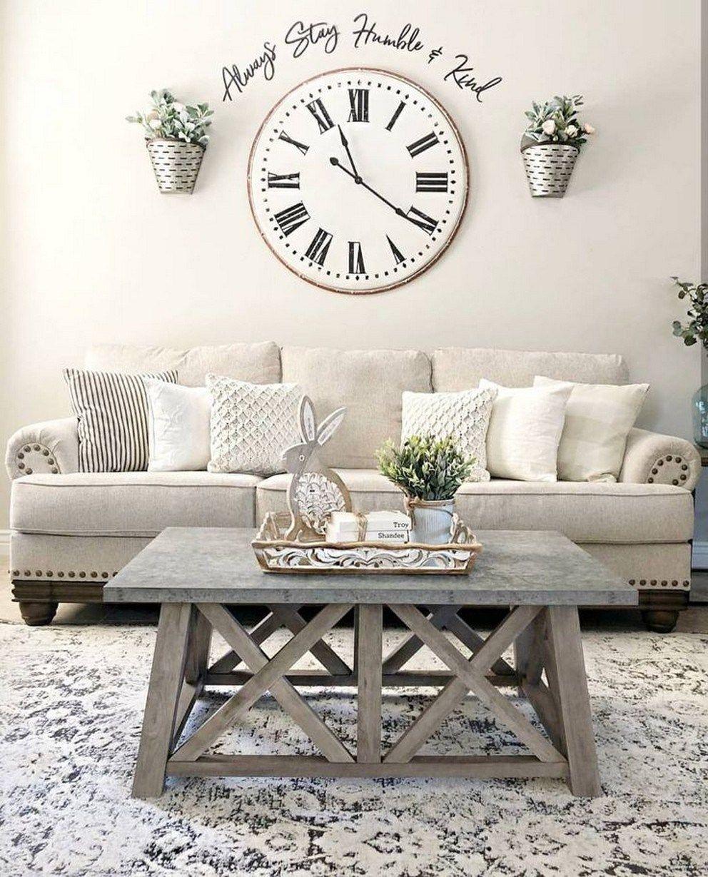96 Beautiful Farmhouse Living Room Design And Decor Ide