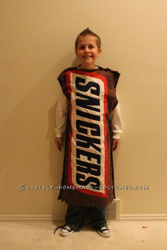 Fun Chocolate and Peanut Butter Candy Bars Family Costume ...