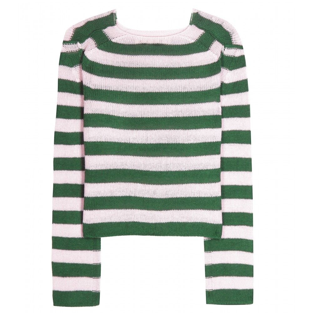 Marni - Striped cashmere sweater -  seen @ www.mytheresa.com