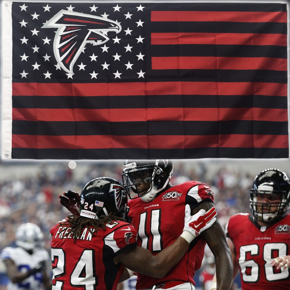 New Atlanta Falcons Team Flag Atlantafalcons Atlanta Falcons Falconsfootball Atlanta Falcons Football Atlanta Falcons Memes Atlanta Falcons
