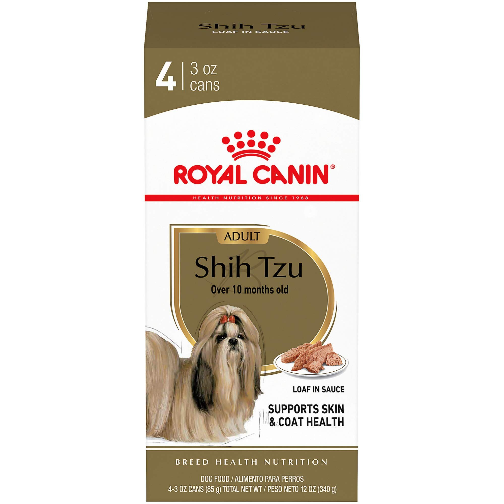 Royal Canin Breed Health Nutrition Shih Tzu Loaf In Sauce Food For Dogs Find Out More About The Great Product In 2020 Wet Dog Food Dog Food Recipes Canned Dog Food