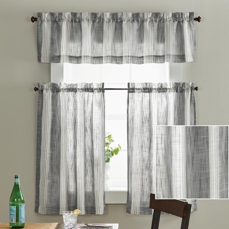683bc2c8d857f7bfb5174974eebc51a4 - Better Homes And Gardens Cafe Kitchen Curtain Set