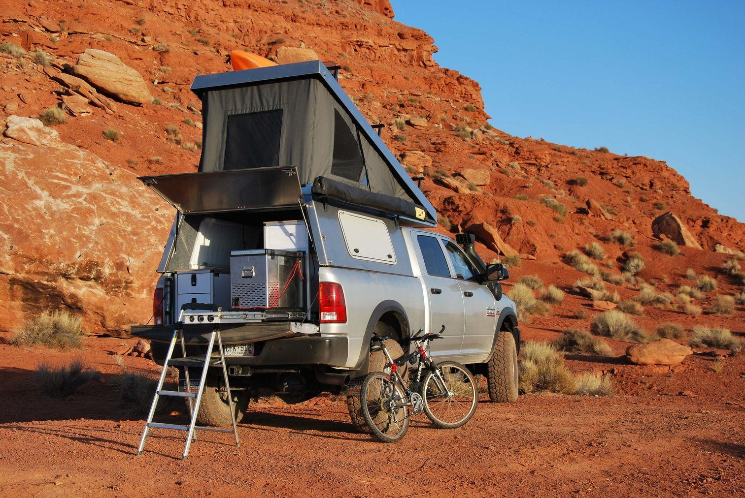 Adventure Trailers Summit Truck Topper AT Overland