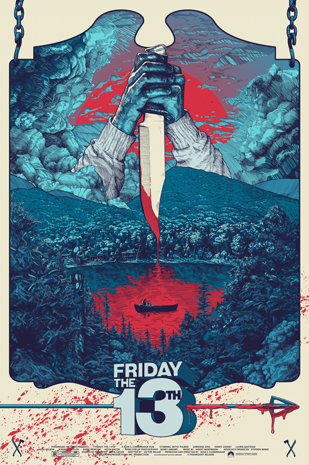 Friday The 13th 1980 Hd Wallpaper From Gallsource Com Horror