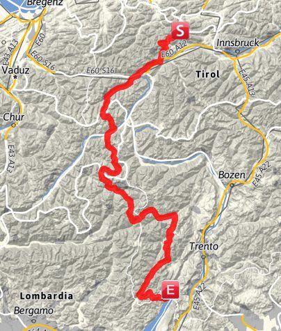 Alpencross Von Leutasch Nach Riva Del Garda X5 Alpen Tiroler