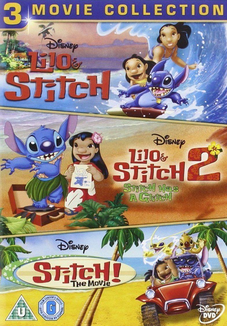Lilo stitch lilo stitch 2 stitch the movie dvd