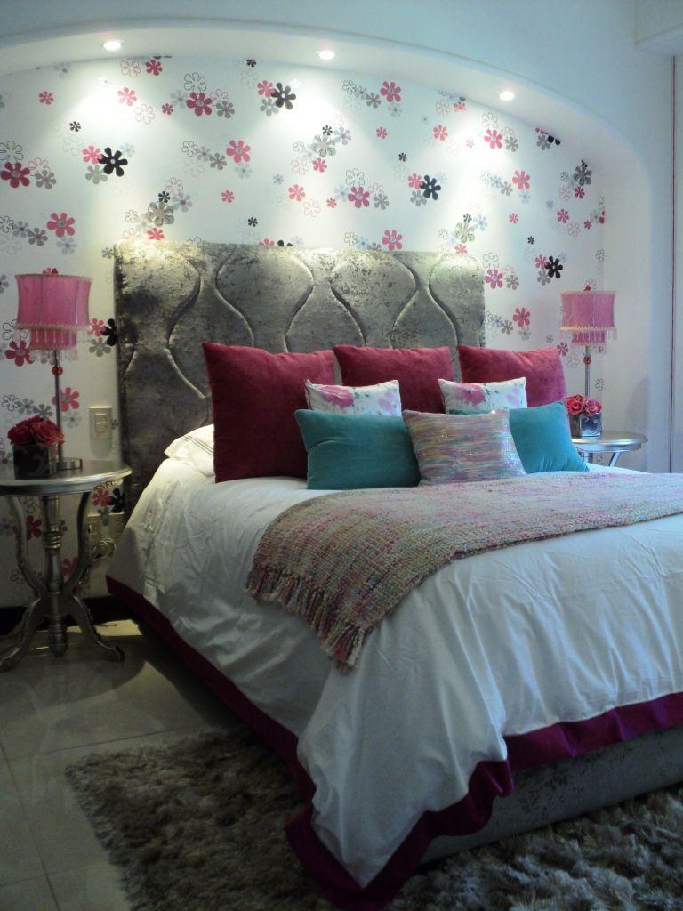 Recamara juvenil recamaras decoracion recamara - Decoracion habitaciones juveniles nina ...