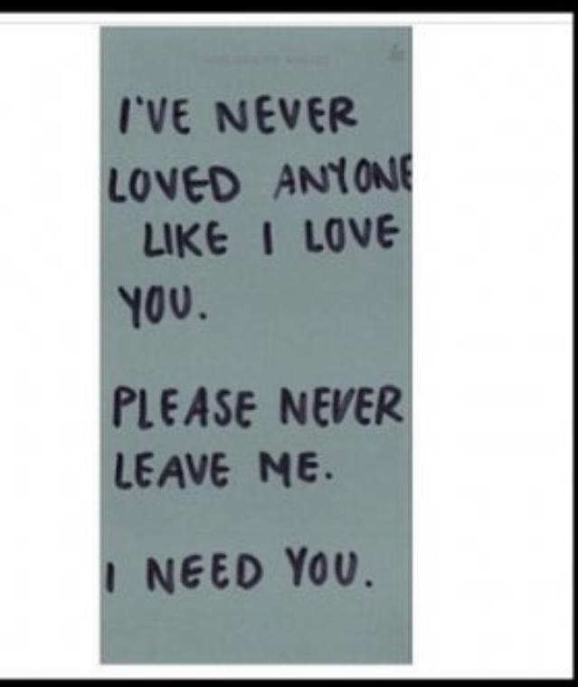 Please Never Leave Me Quotes Pinterest Romanticismo