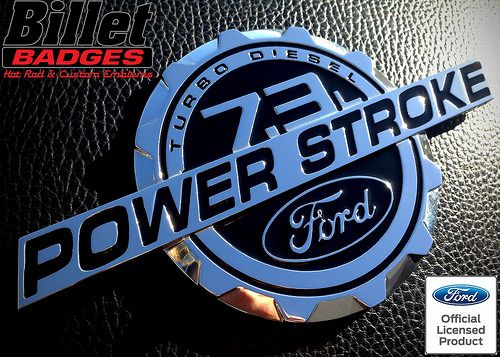 FORD EXCURSION F250 6.0L TURBO DIESEL BADGE EMBLEMS
