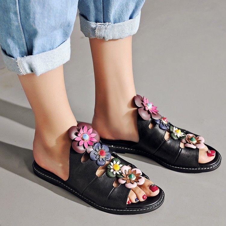 fendi flower slipper  c14696d55c07