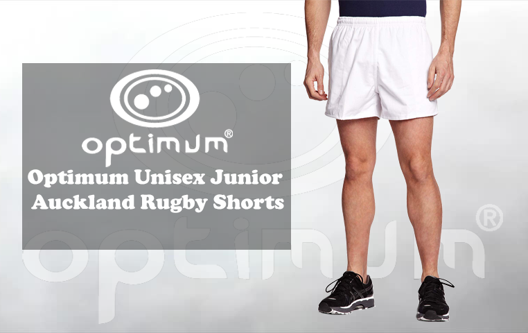 Black Optimum Sports Auckland Rugby Shorts For High Performance Training
