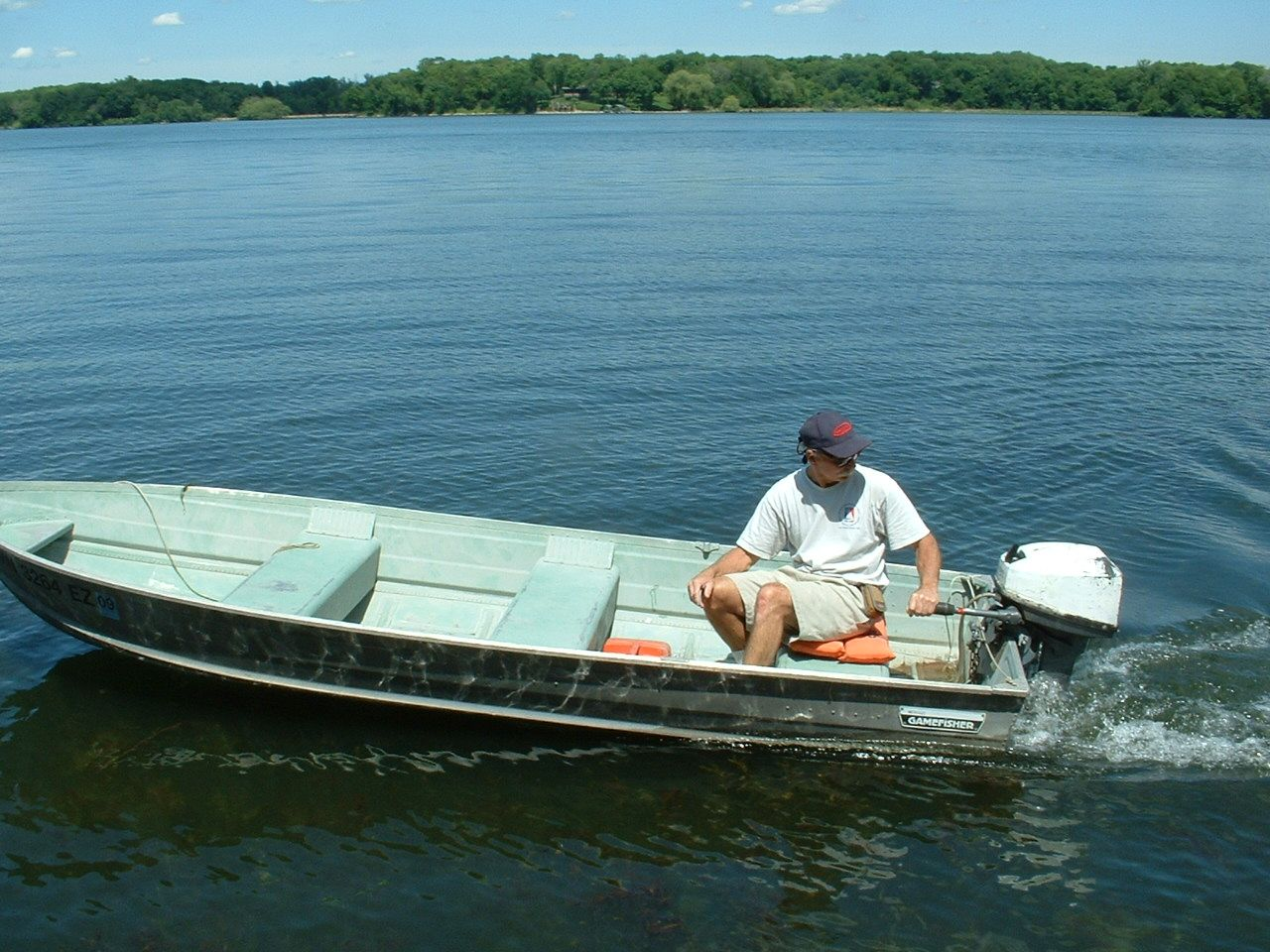 Small Aluminum Fishing Boats Now That 39 S A Fish Fishing
