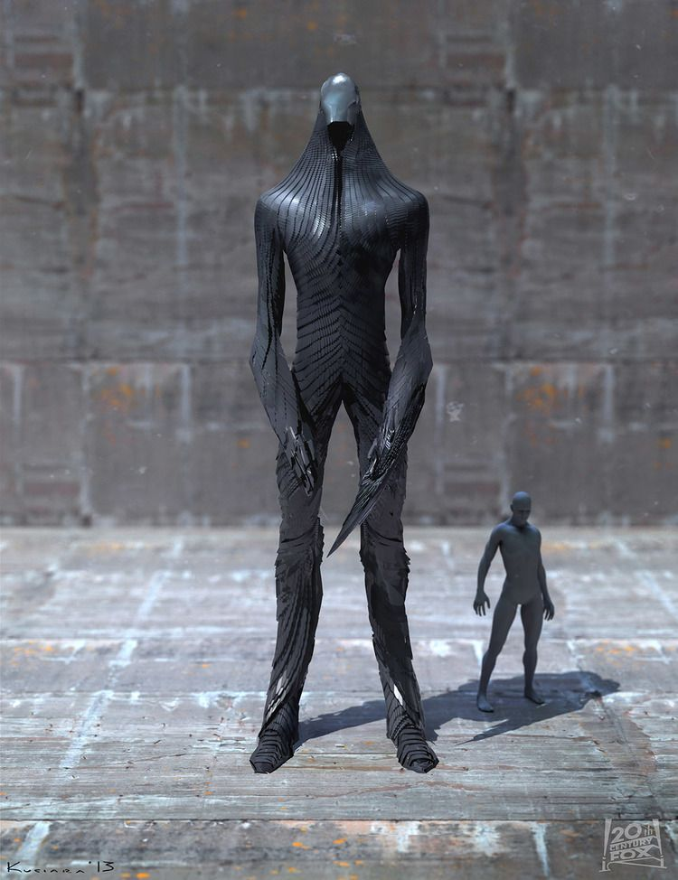 Sentinel concept art from X-Men: Days of Future Past by Maciej Kuciara