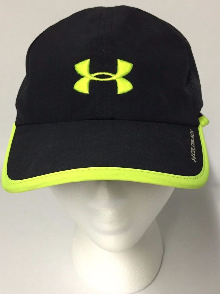 2917634f2e34a Women s Under Armour Black Coldblack Running Hat One Size Free Shipping   UnderArmour  cap  RunningEveryday