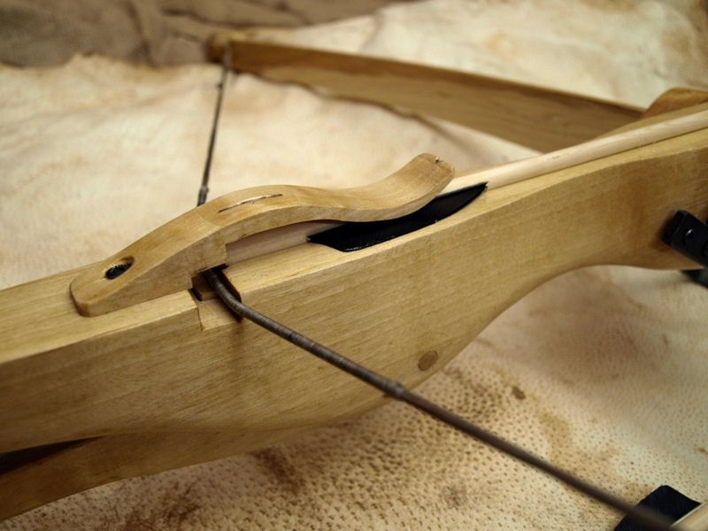 Traditional wooden crossbow st hubert 39 s rangers pinterest crossbow longbow and weapons - How to make a homemade bow and arrow out of wood ...