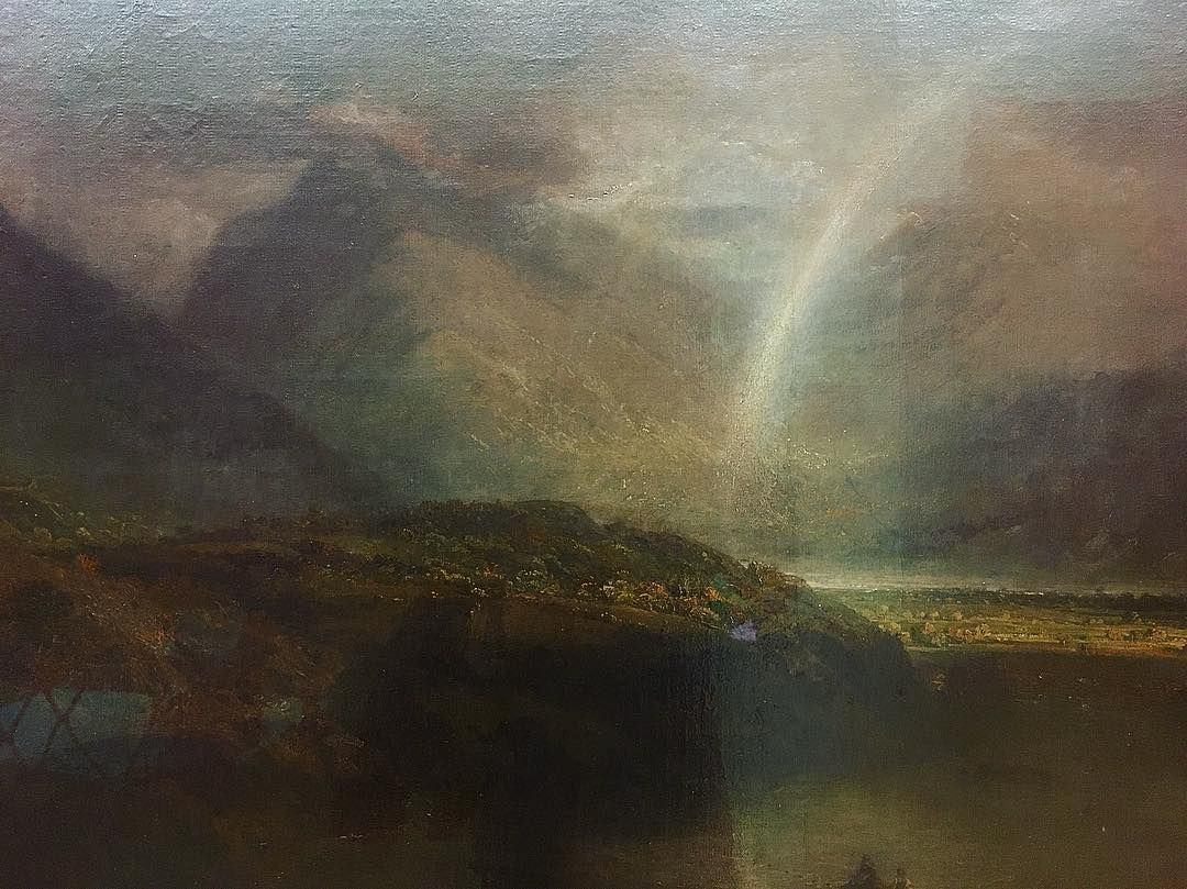 This Painting Of Buttermere In The Lake District By My Hero Jmw Turner 1798 Must Have Filed Itself Away In My Mind And Lake District Painting J M W Turner