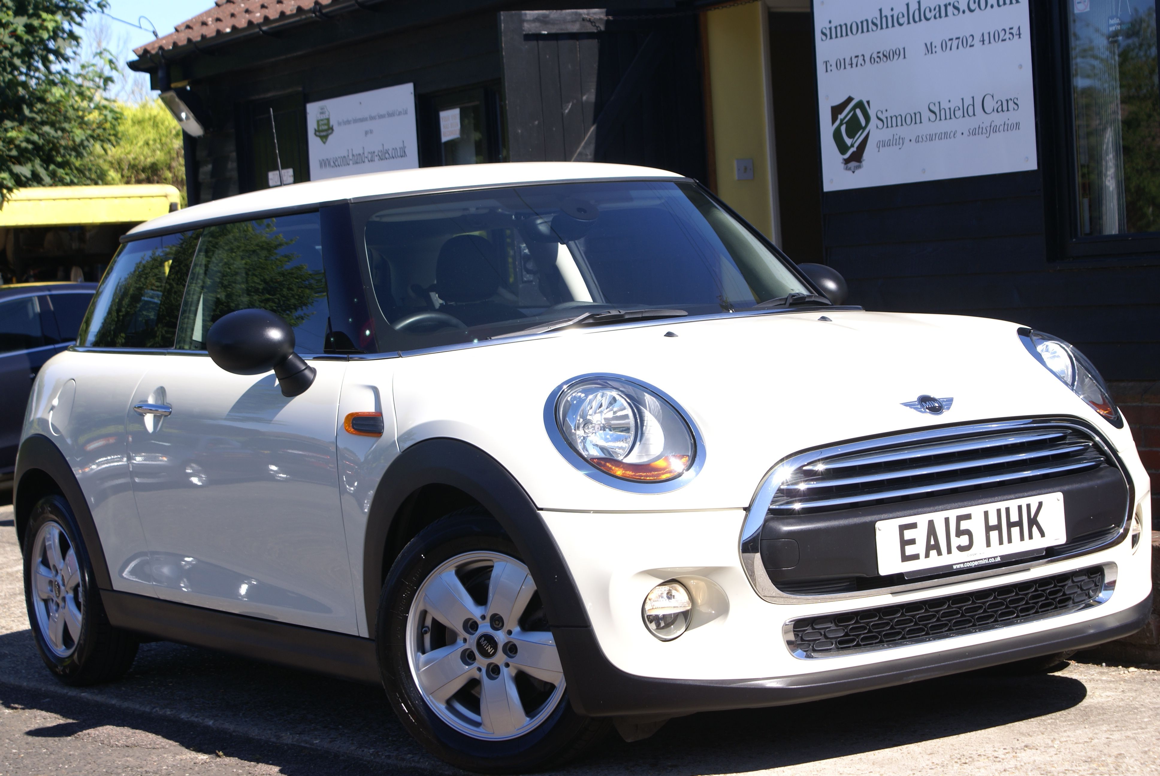 This Lovely Third Generation Mini One  Cylinder Petrol Will Make You
