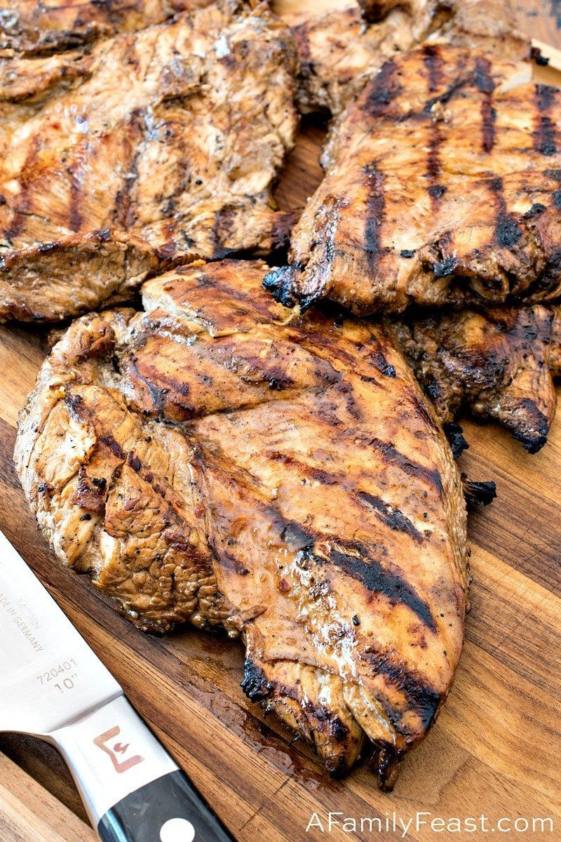 Marinated Grilled Chicken - A Family Feast